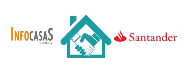 InfoCasas y Banco Santander Uruguay presentan una alianza para préstamos hipotecarios con la mejor tasa del mercado