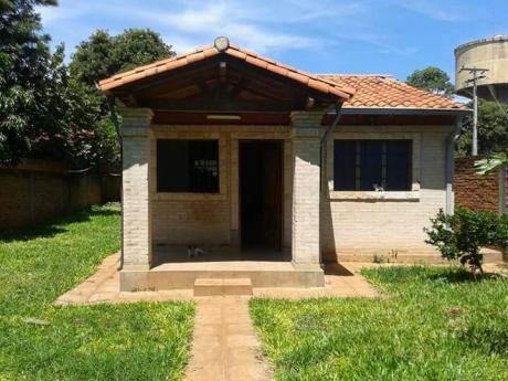Alquilo Casa Independiente En Mariano Roque Alonso Limite Con Loma Pyta