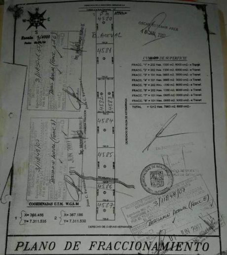 Oferta Estancia Ganadera, Chaco