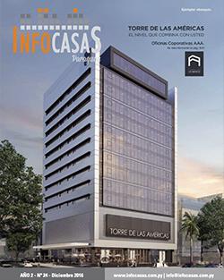 Revista InfoCasas, Número 24, Diciembre 2016