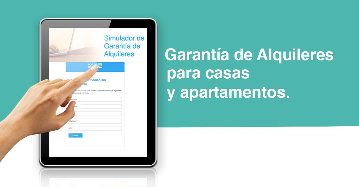 Simulador de Garantías de InfoCasas