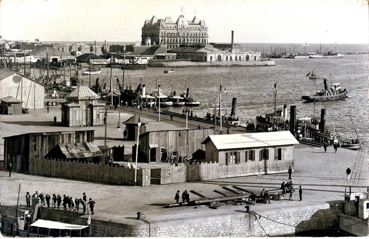 Hotel Nacional y Puerto de Montevideo