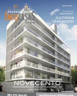 Revista InfoCasas, Numero 25, Febrero 2017
