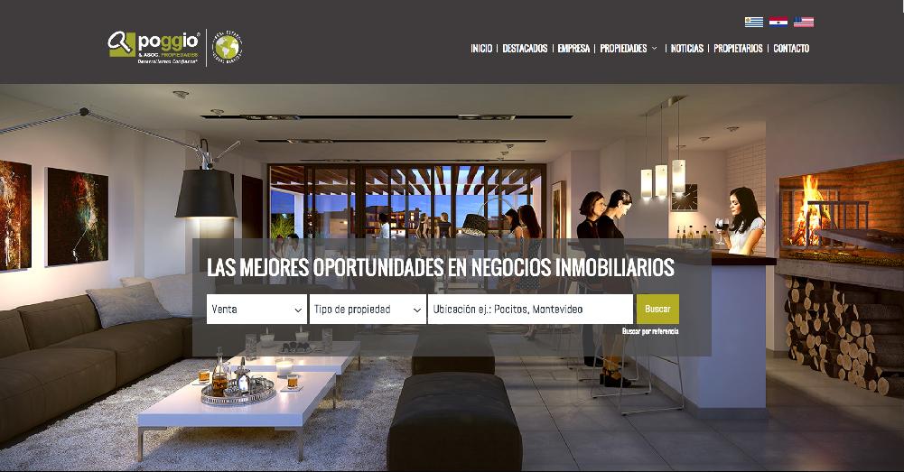 Sitios web para inmobiliarias