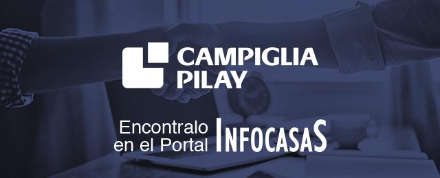 Ahorrar en ladrillos: alianza estratégica entre InfoCasas y Campiglia Pilay
