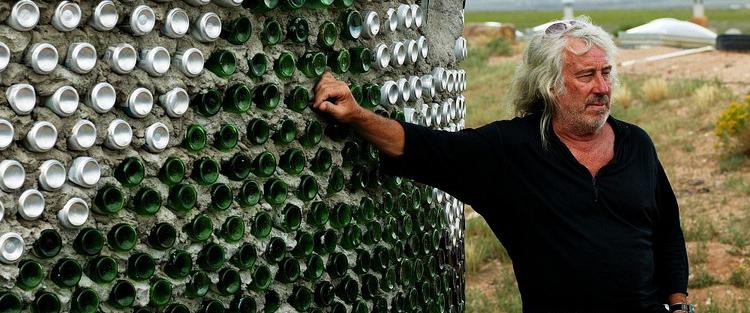 Michael Reynolds - construcciones ecológicas