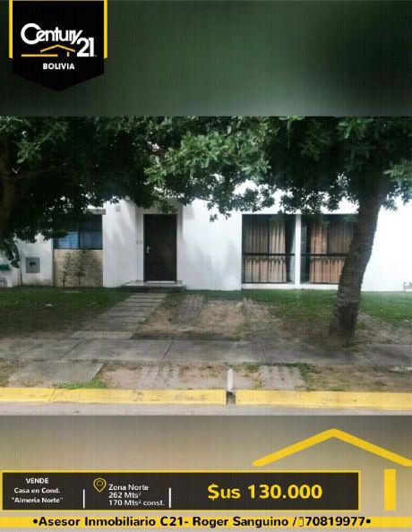 """Vendo Casa En Condominio """"almería Norte"""""""
