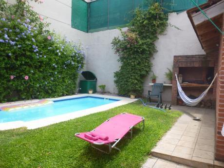 Casa Padrón único 3 Dorms Y Servicio Gge X2 Piscina Buceo