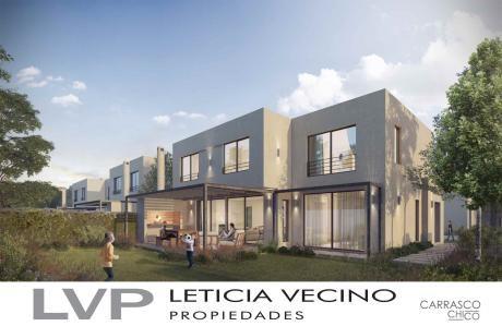 Casa Barrio Privado En Pleno Carrasco Sur