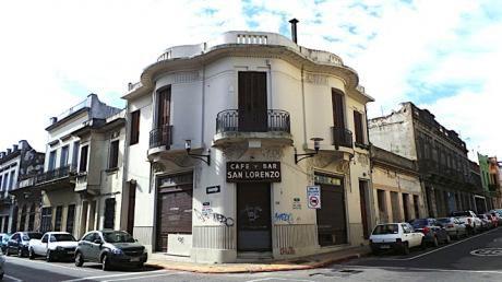 Antiguo Café Y Bar San Lorenzo En Ciudad Vieja