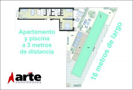 2 Dorm, 77m2, Amplio, Patio, Orientado Al Sol.