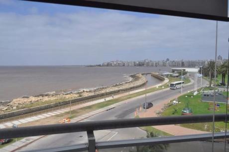 Pocitos. 3dor. 140mts2. Frente Al Mar. Terraza C/parrillero. 2 Gje. Vig 24 Hs.
