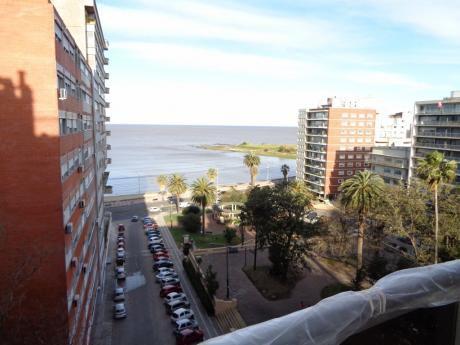 A Pasos Del Mar Y Plaza Gomenzoro, Equipado!!!