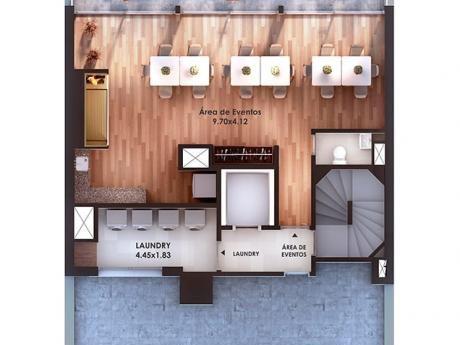 Apartamento De 1 Dormitorio En Construccion En Pocitos