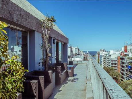 Único !!  Penthouse Con Vista De 360º Próx. Rambla Pocitos