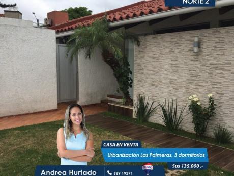 Casa En Venta Urbanización Las Palmeras