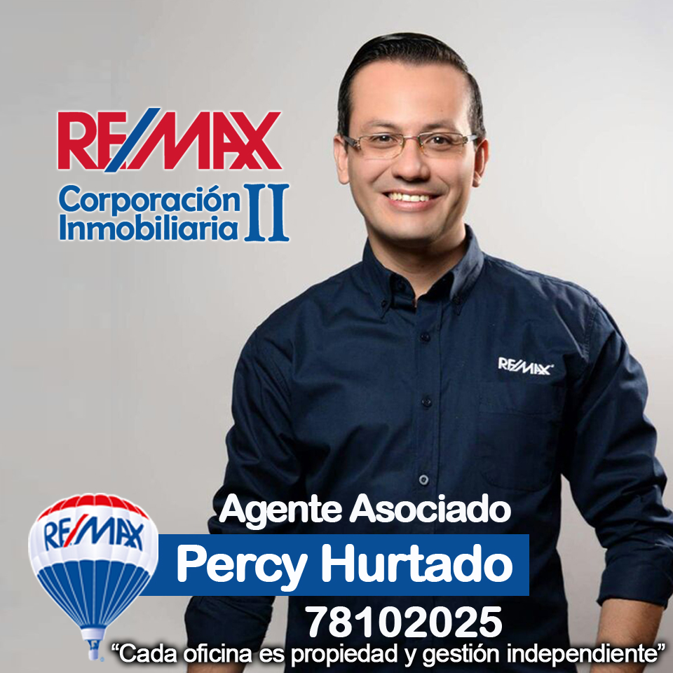 Percy Hurtado Agente REMAX CORP. 2