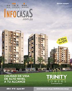 Revista InfoCasas, Número 31, Agosto 2017