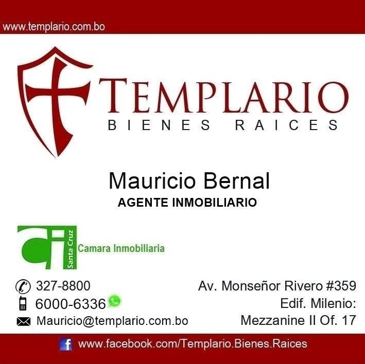 TEMPLARIO - Agente Inmobiliario - Mauricio Bernal