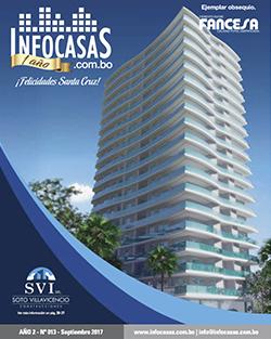 Revista InfoCasas Bolivia, Número 13, Setiembre 2017