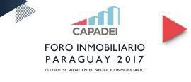 Foro Inmobiliario CAPADEI 2017, el gran encuentro de desarrolladores
