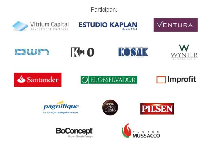Sponsors del evento Uruguay Invierte