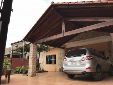 Vendo Hermosa Casa En Mariano Roque Alonso !!