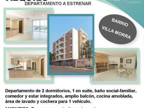 Imperdible Monoambiente Estrenar B.villa Morra