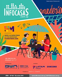 Revista InfoCasas, Número 72, Diciembre 2017