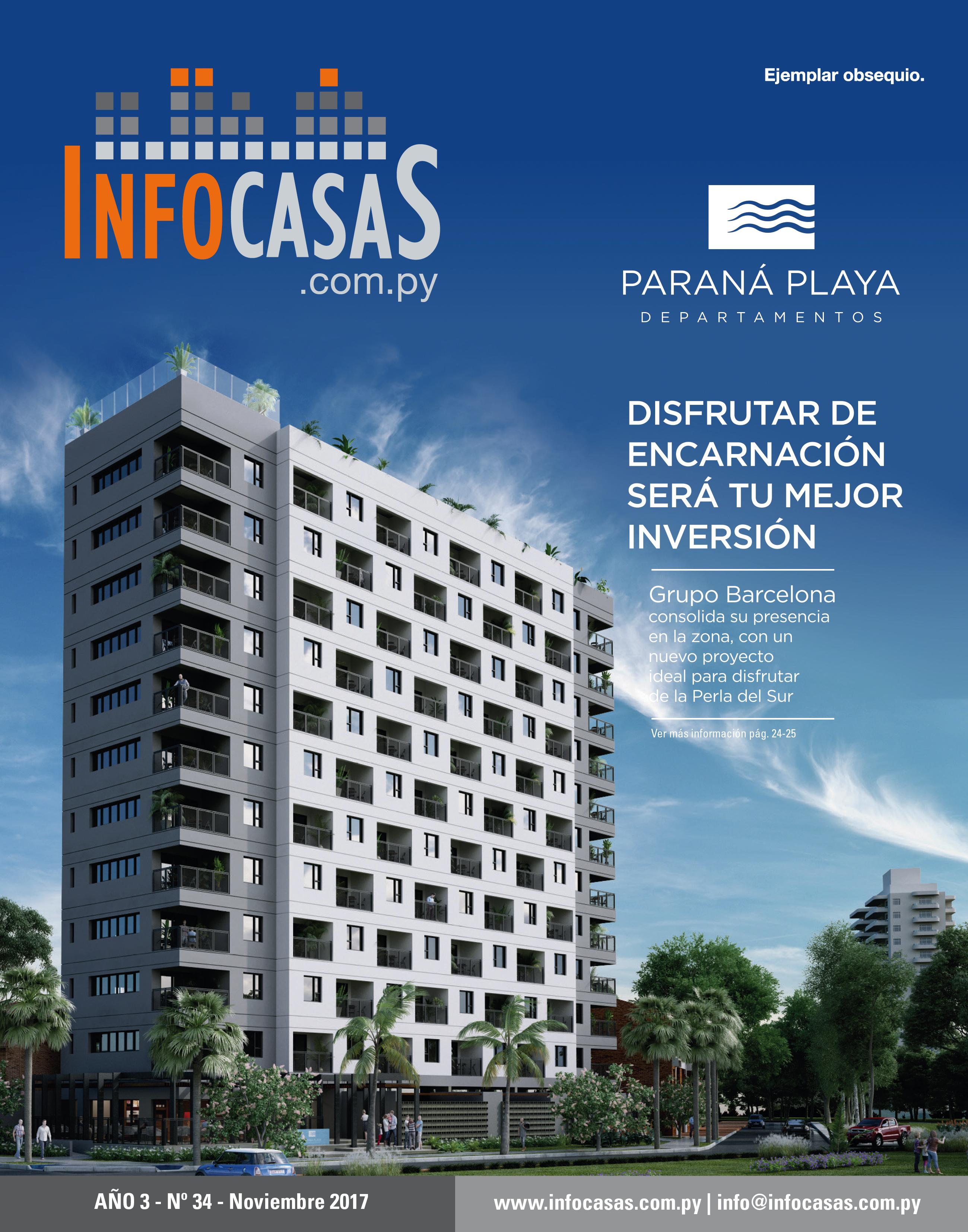 Revista InfoCasas, Número 34, Noviembre 2017