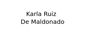 Karla Ruiz de Maldonado