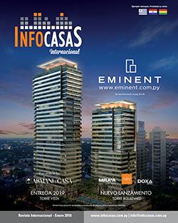 Revista, InfoCasas Internacional, Enero 2018