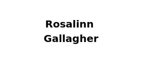 Rosalinn Gallagher