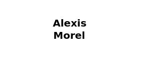 ALEXIS MOREL