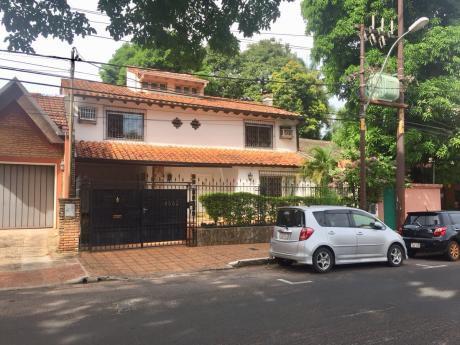 Alquilo Casa En Villa Morra!!