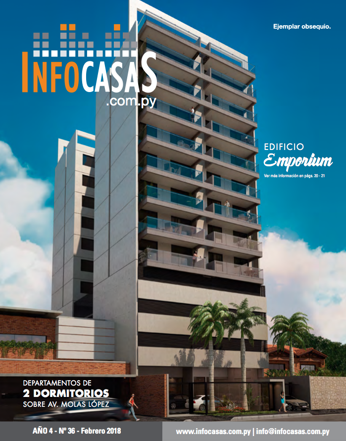 Revista InfoCasas, Número 36, Febrero 2018