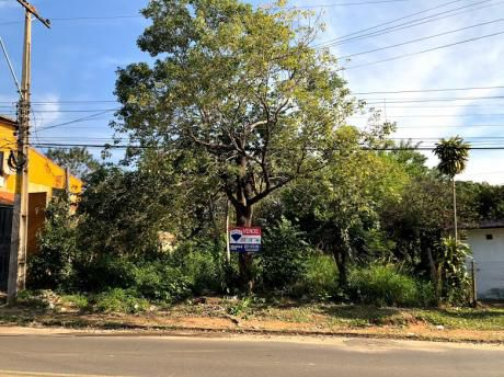 Terreno En Mariano A 1 Cuadra De La Transchaco! Sobre Calle Asfaltada