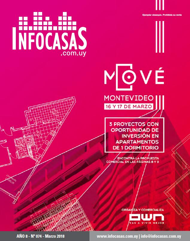 Revista InfoCasas, Número 74, Marzo 2018