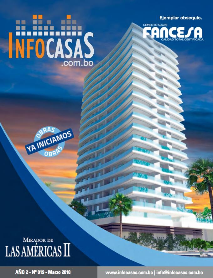 Revista InfoCasas, Número 19, Marzo 2018