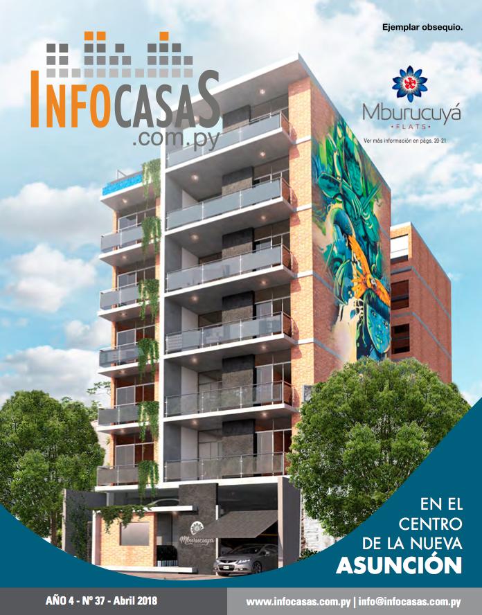 Revista InfoCasas, Número 37, Abril 2018