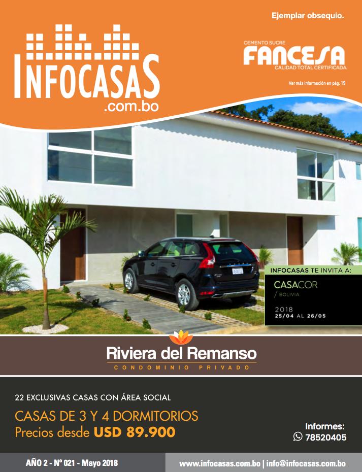Revista InfoCasas, Número 21, Mayo 2018