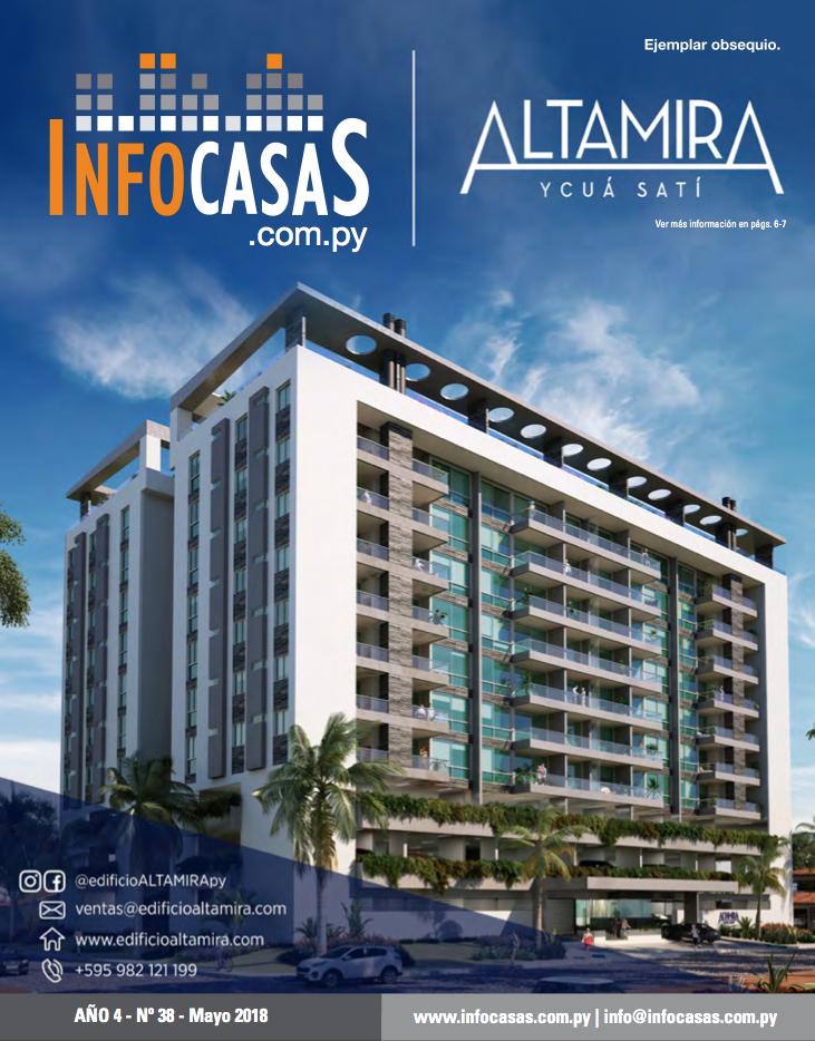 Revista InfoCasas, Número 38, Mayo 2018