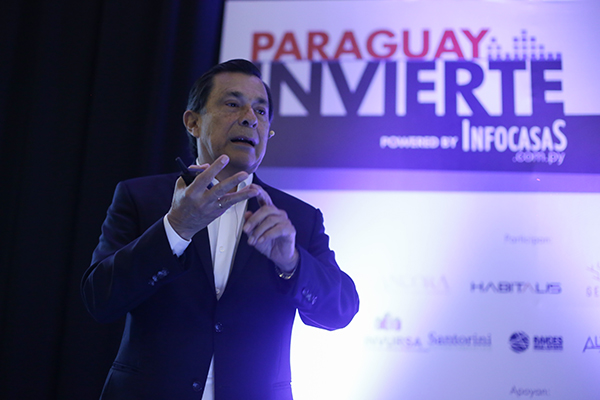 Victor González Acosta en Paraguay invierte