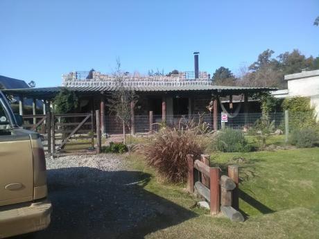Casa Campo En Hermoso Entorno Natural