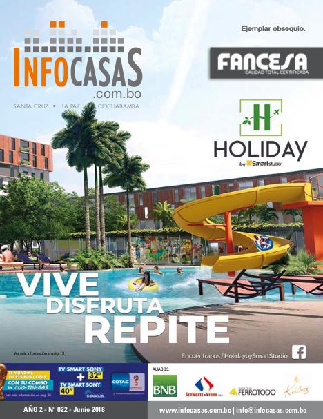 Revista InfoCasas, Número 22, Junio 2018