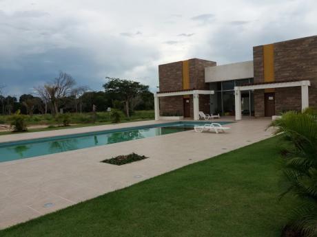 Casa Amoblada En Alquiler En El Urubo