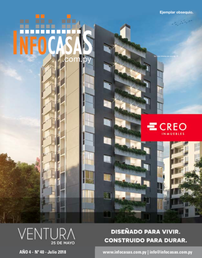Revista InfoCasas, Número 40, Julio 2018