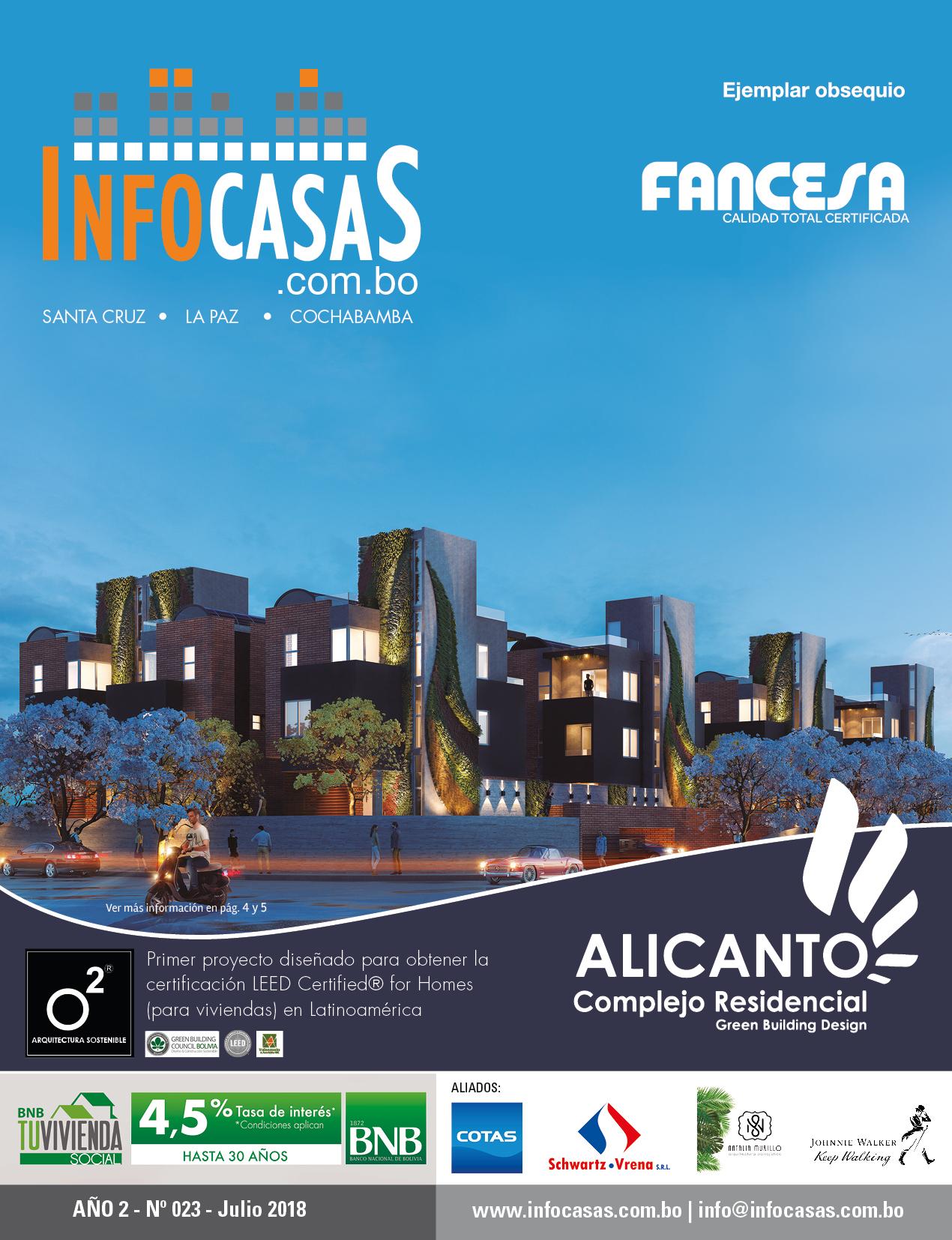 Revista InfoCasas, Número 23, Julio 2018
