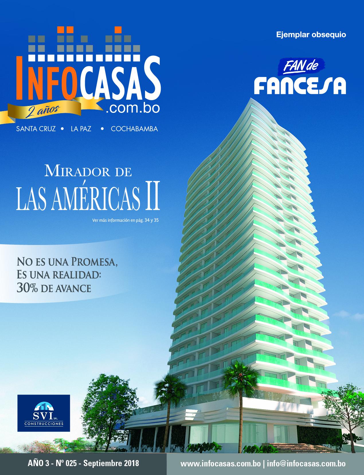 Revista InfoCasas, Número 25, Septiembre 2018