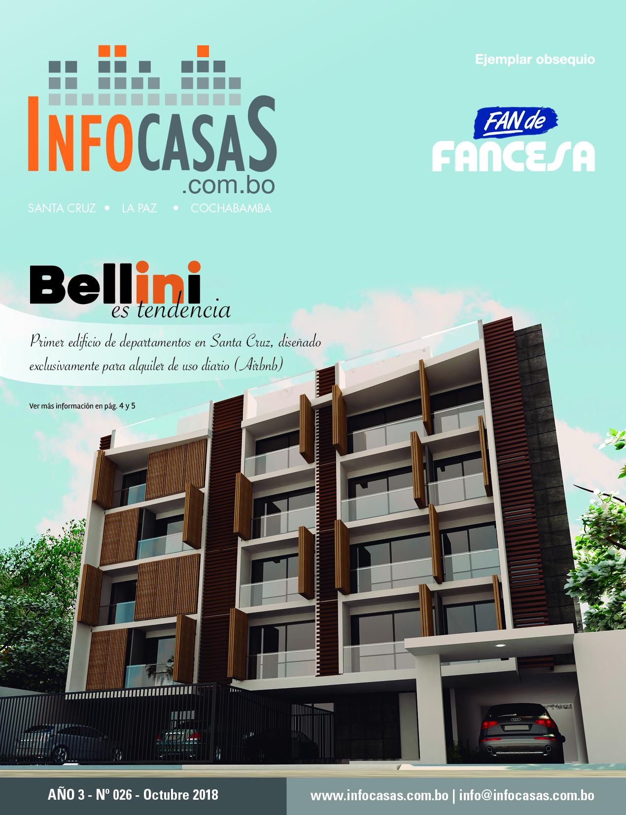 Revista InfoCasas, Número 26, Octubre 2018